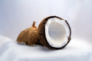 kokosnuss offen