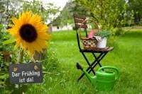 Gartenarbeit im April – der Frühling ist da